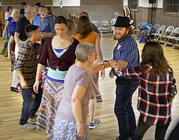 Contra Dance at the Lutheran Church